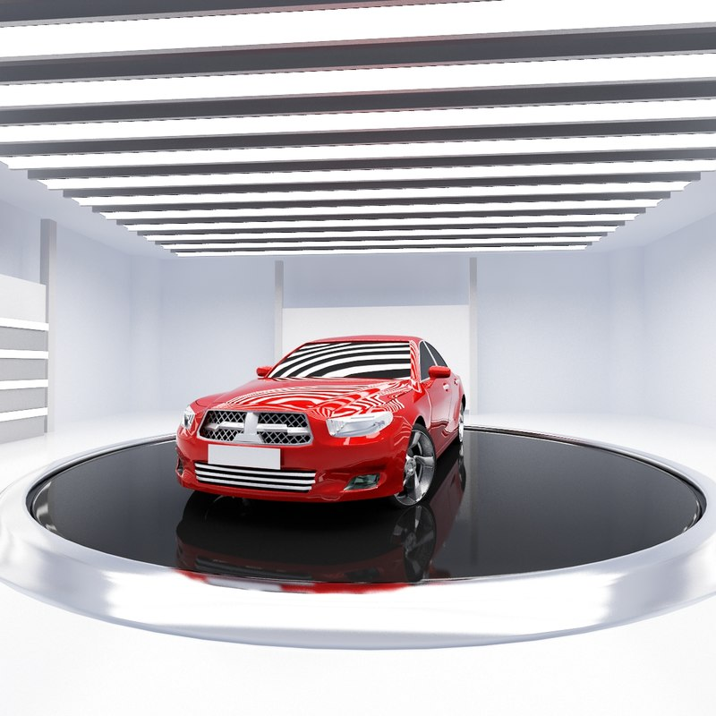 3d studio room m model