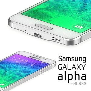 3d samsung galaxy alpha
