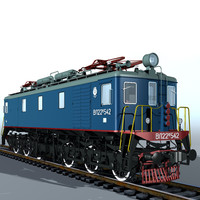 3d model electric locomotiv vl22m locomotives