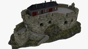 3d model fort english vauban