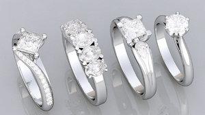 3d 4 diamond rings
