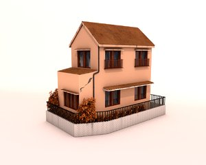 3ds max japanese house
