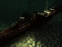 3d ship military model