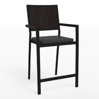 3d alfresco barstool model