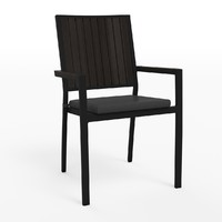 alfresco dining chair 3d max