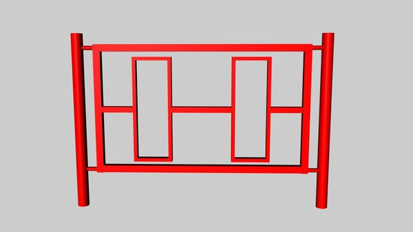 free c4d model fence