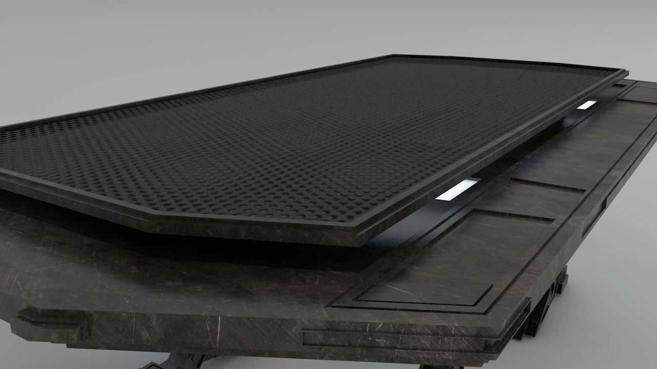 3d model of new table