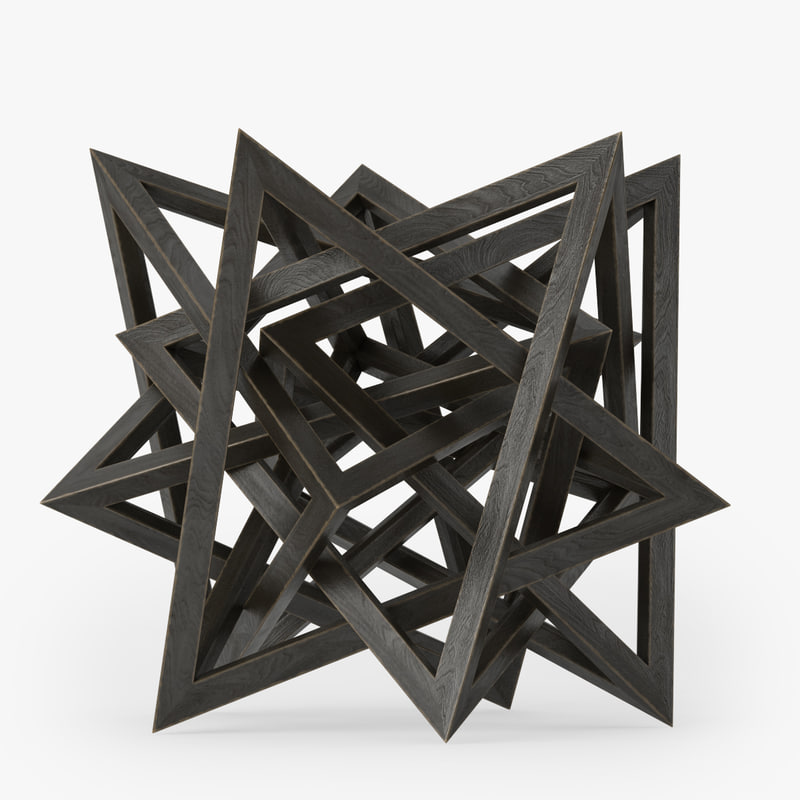 wood star maquette max