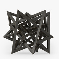 Wood Star Maquette
