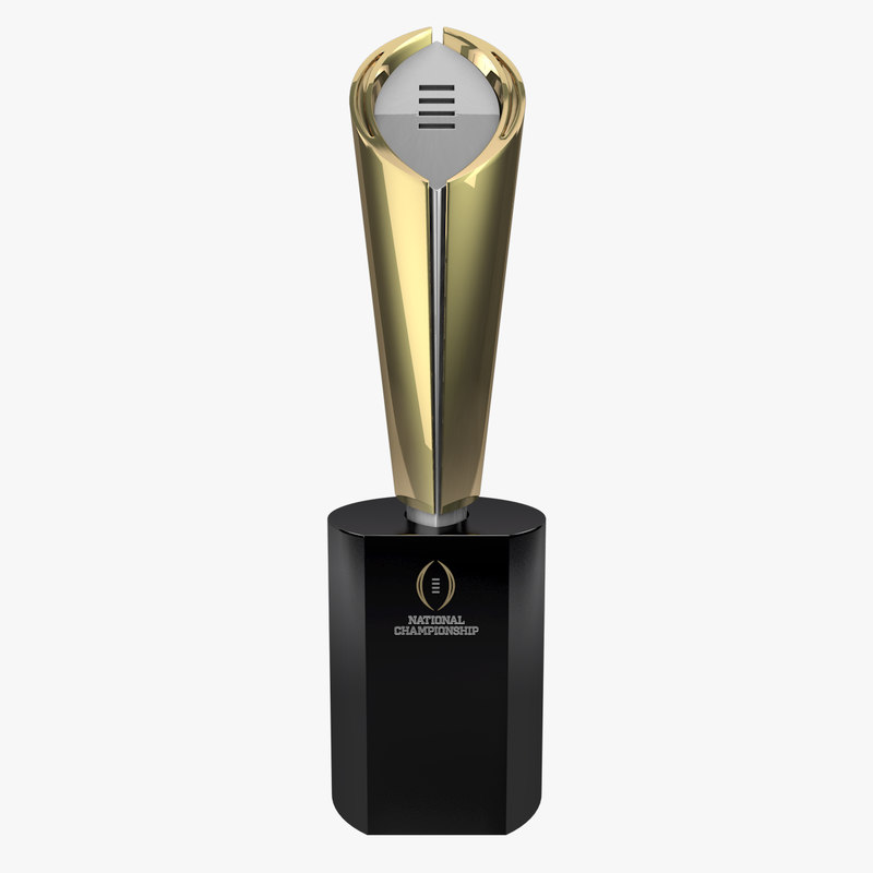 3ds 2014 college football trophy