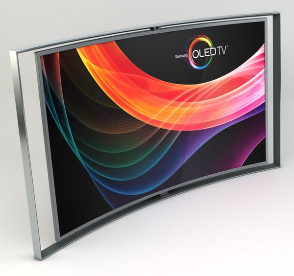 samsung curved smart oled 3d 3ds