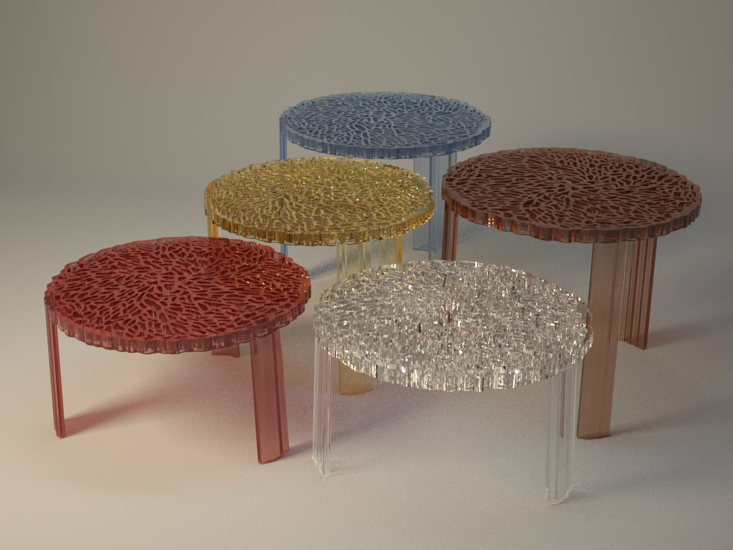 3ds max kartell t table