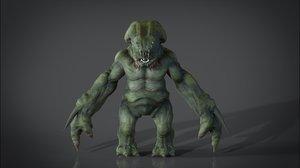 3d 3ds monster