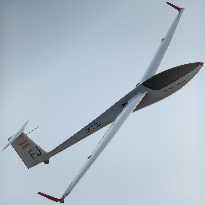 max glider dg-808s simple
