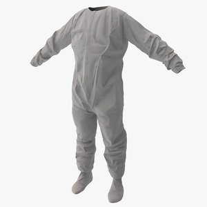 disposable coverall 2 3d 3ds