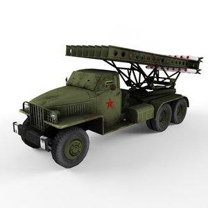 3d katyusha artillery
