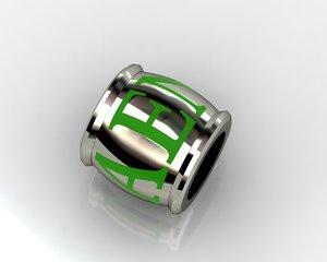 3d 3ds charms pendants