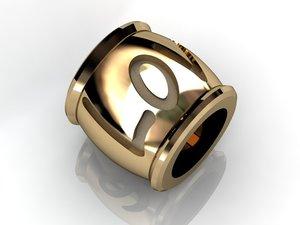 3d charms pendants