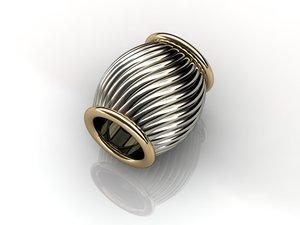 charms pendants 3d model