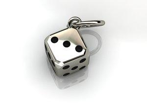 3d model charms pendants