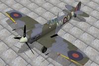 3d supermarine spitfire