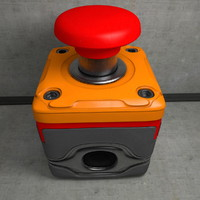 Emergency Safety Stop Switch Button