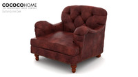 Eastover leather chair