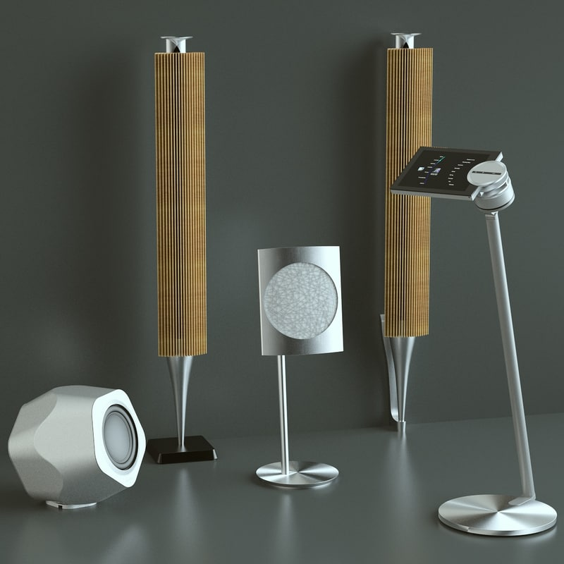 3ds max photoreal bang olufsen