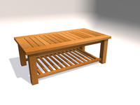 obj outdoor coffee table