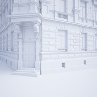 building neoclassical style 3d max
