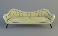 3d hermes sofa