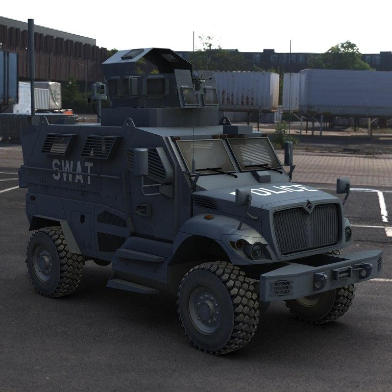 Maxxpro Mrap Police