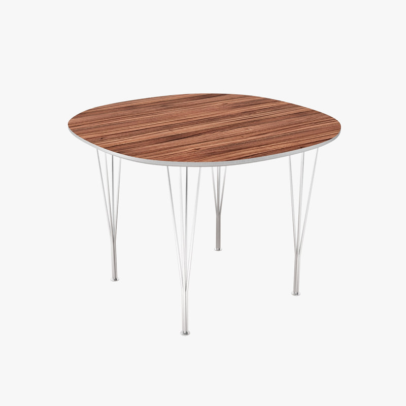 3ds tables arne jacobsen