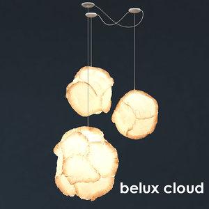 3d max belux cloud lamp