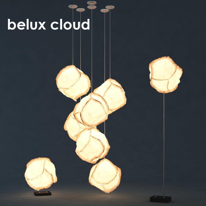 max belux cloud lamp