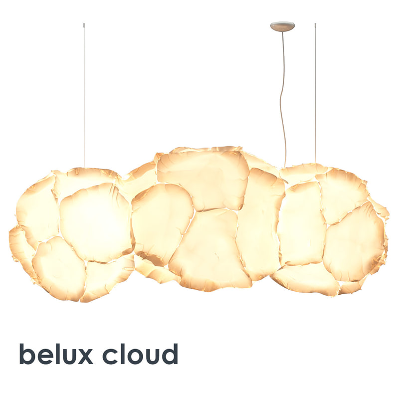 belux cloud lamp 3d x