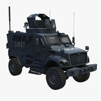 3ds maxxpro police swat