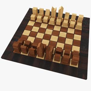 minimal chess 3d max
