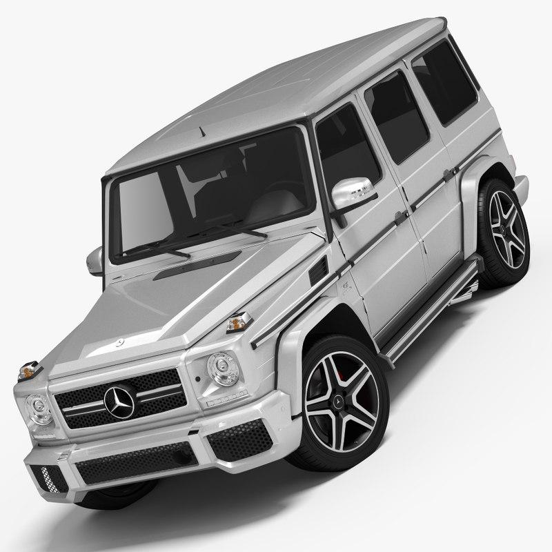 3d 3ds mercedes-benz g65 amg 2013