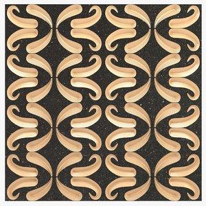 3d model wall tiles