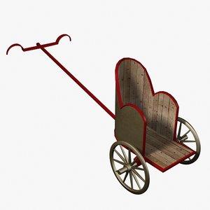 roman chariot 3d model