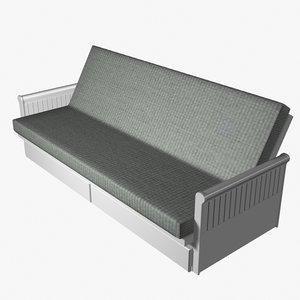 futon soffabed 3ds