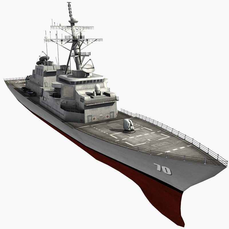 arleigh burke destroyer max