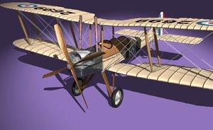 obj be2c royal aircraft factory