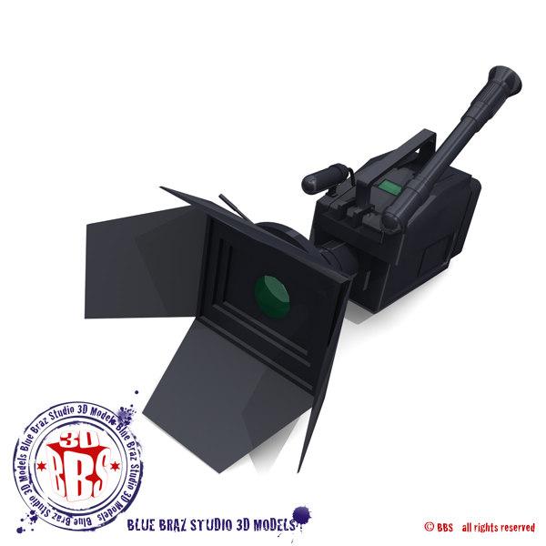 3d model camera camcorder