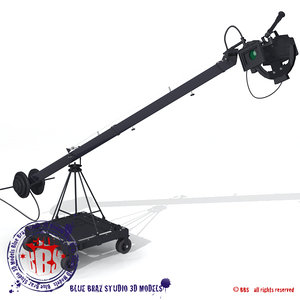 jimmy jib 3d model
