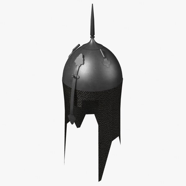 3d indo-persian helmet model