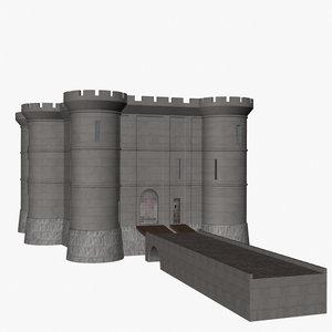 bastille 3d dxf