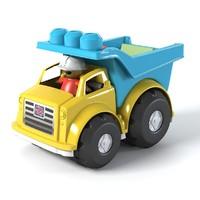 3d model dump truck block
