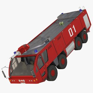 panther firetruck 3ds